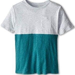 Boys Vince Colorblock Pocket Tee XL